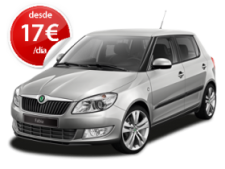 rent a car cluj - Skoda Fabia