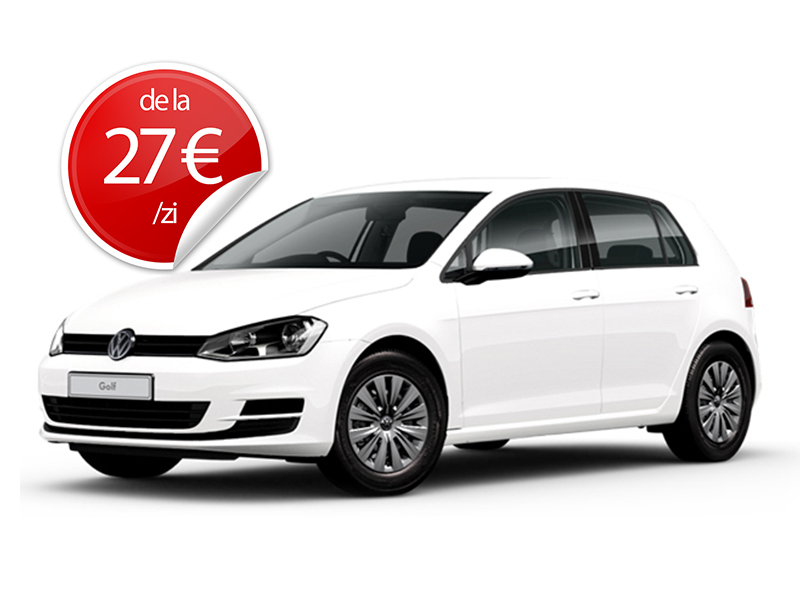 rent a car cluj - VW Golf